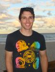 Dan at the beach